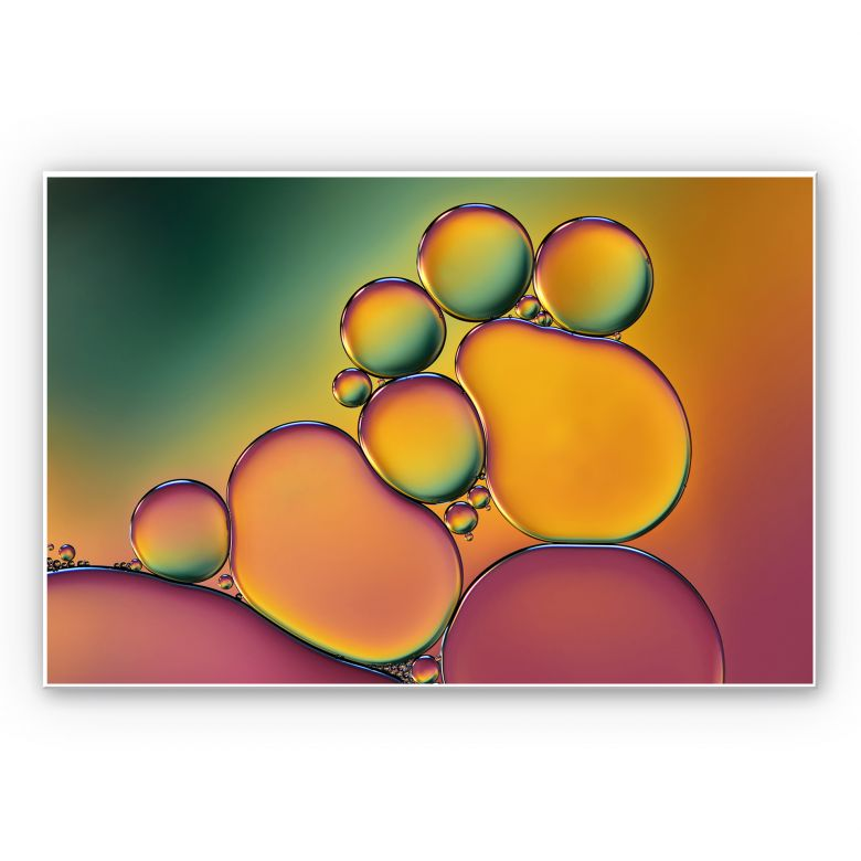 Wandbild Westum - Bubbles