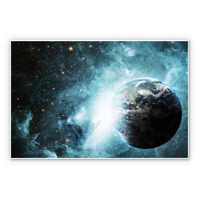 Wandbild In einer fernen Galaxie