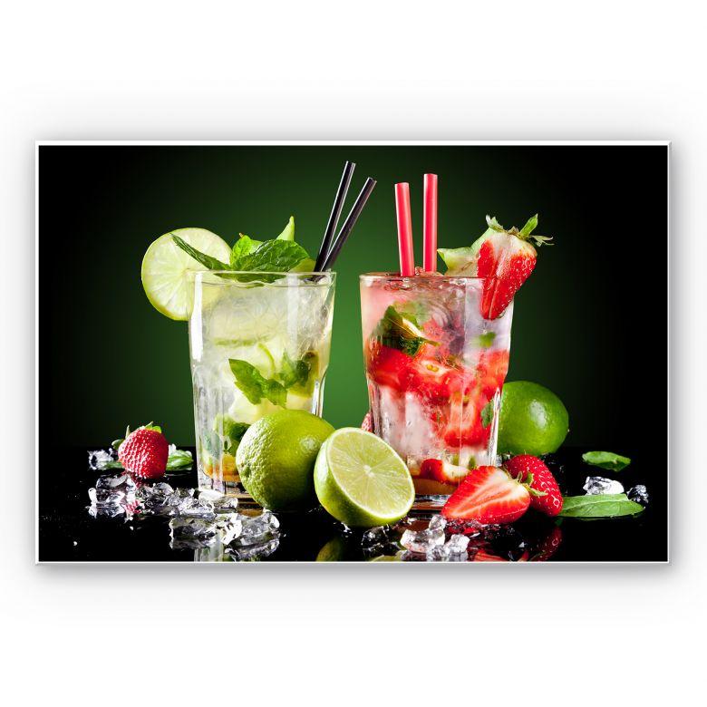 Wandbild Cocktail Hour