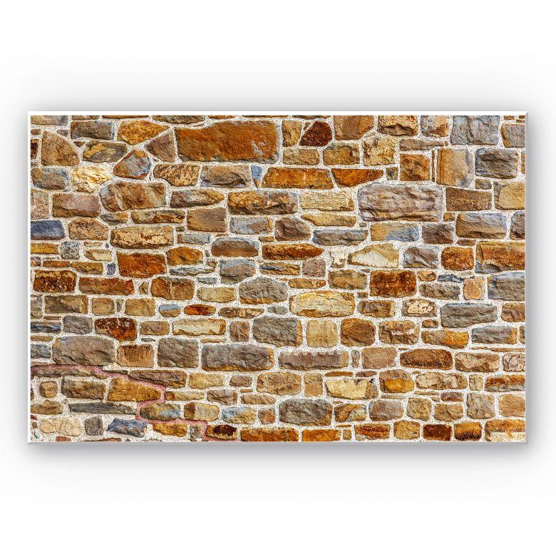 Wandbild Arizona Stonewall