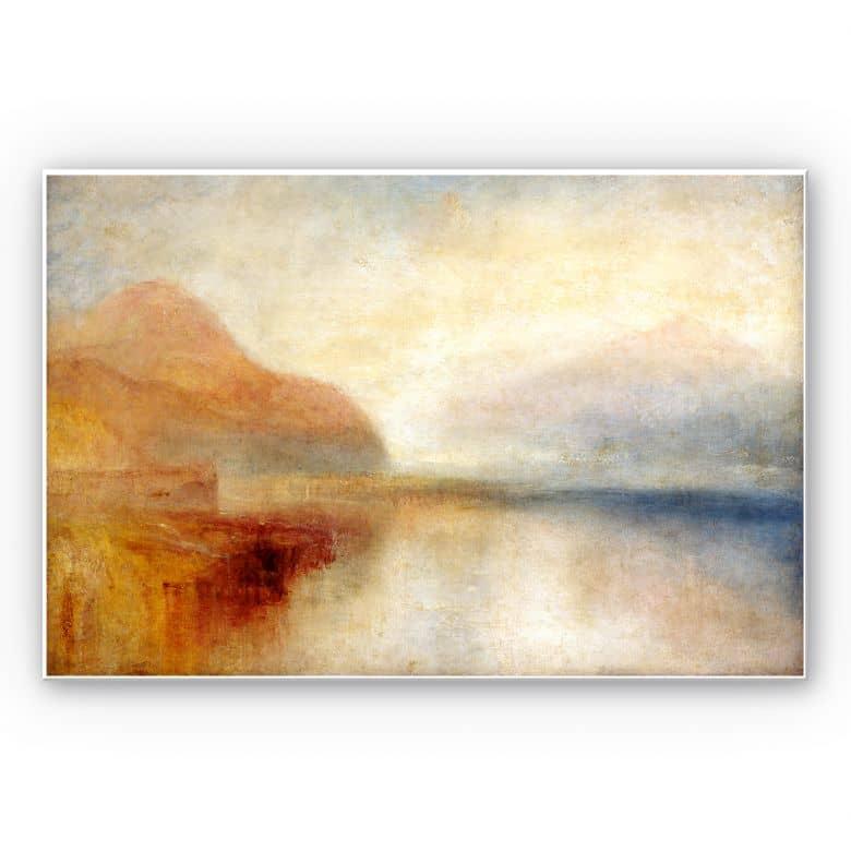 Wandbild Turner - Monte Rosa