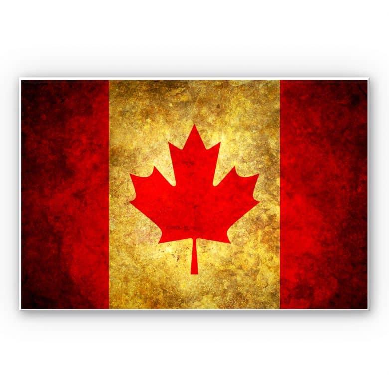 Wandbild The Maple Leaf