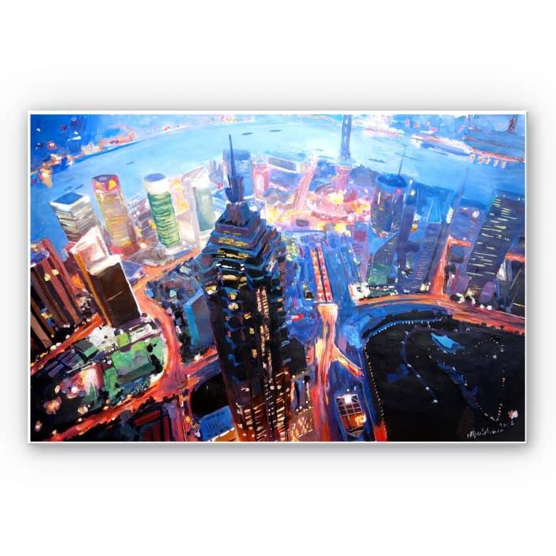 Wandbild Bleichner - Shanghai