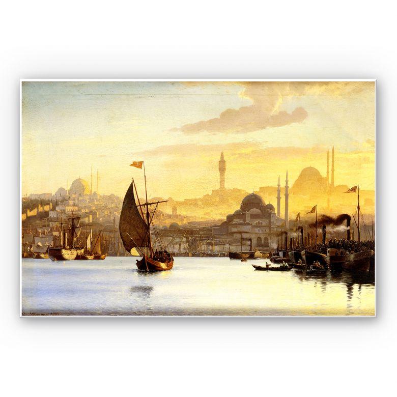 Wandbild Neumann - Konstantinopel