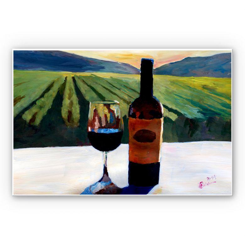 Forex print Bleichner - Wine in Napa Valley