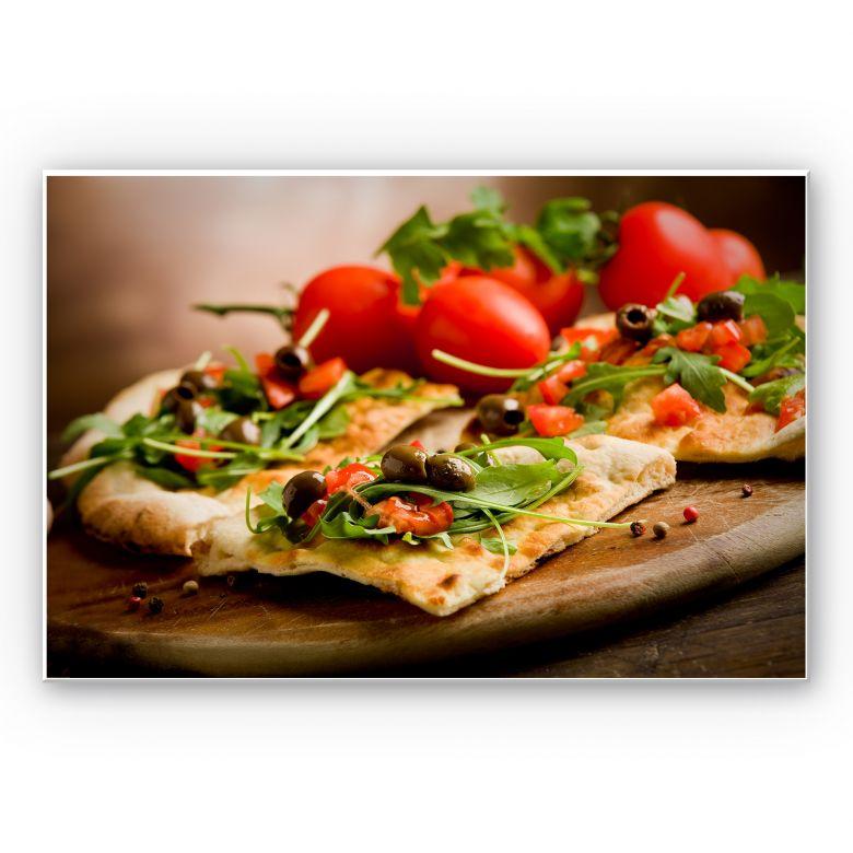 Wanddecoratie Pizza all\'Italiana