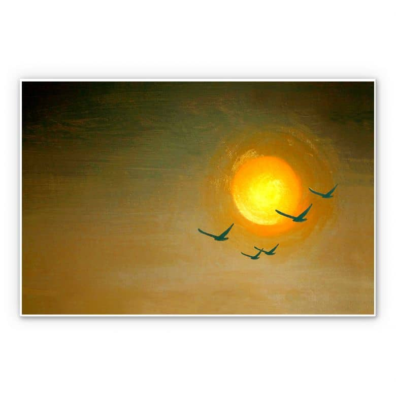 Wandbild Melz - Fly