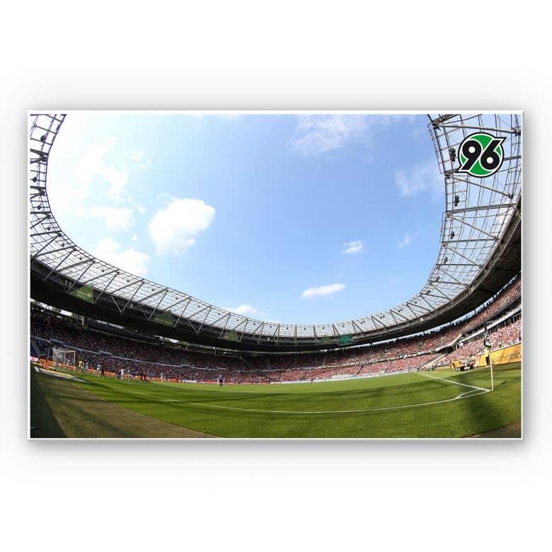 Wandbild Hannover 96 - Stadion Innenansicht