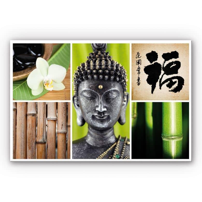 Wandbild Asian Spa