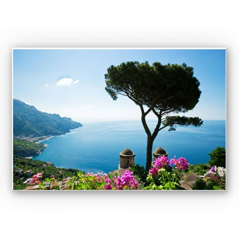 Tableau Forex - Vue sur la côte amalfitaine