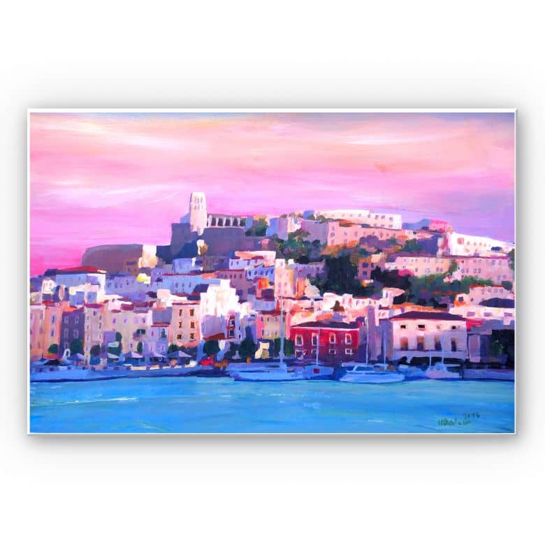 Wandbild Bleichner - Ibiza-The Pearl of the Mediterranean