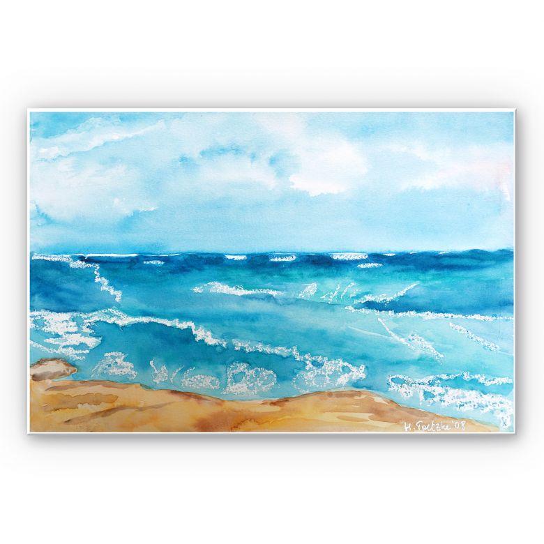 Wandbild Toetzke - Meeresrausch