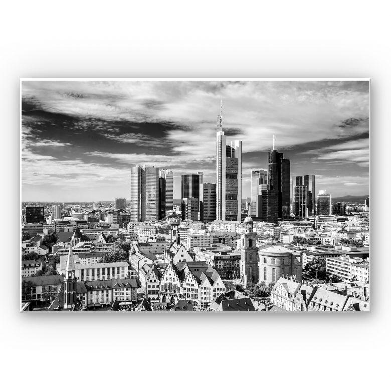 Wandbild Frankfurter Skyline