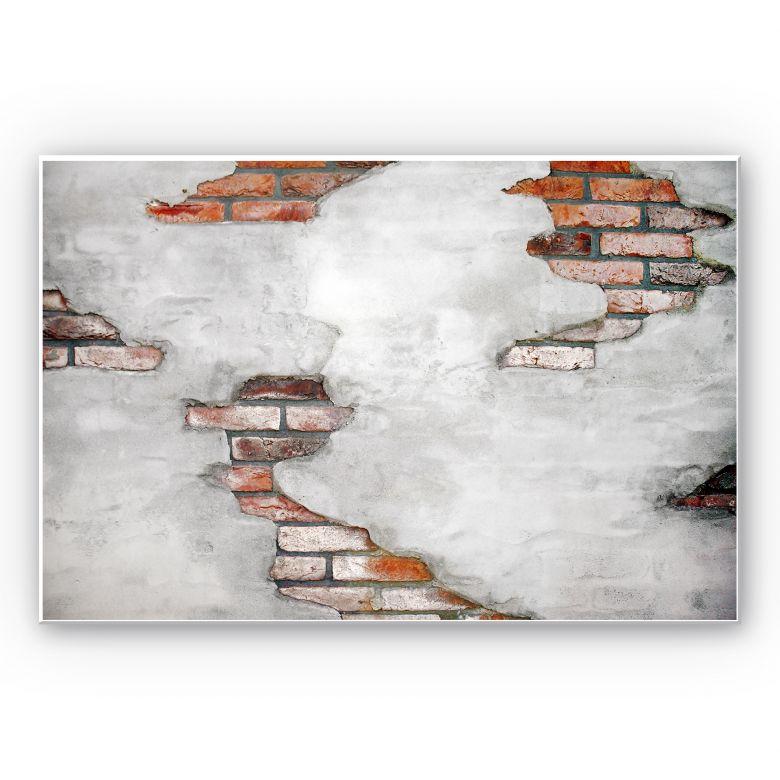 Wandbild Backsteinmauer 02