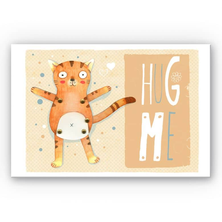 Wandbild Loske - Hug me