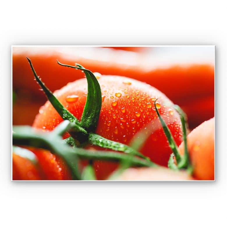 Wandbild Fresh Tomato