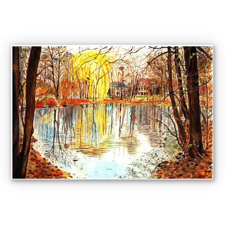 Wandbild Toetzke - Herbstzauber