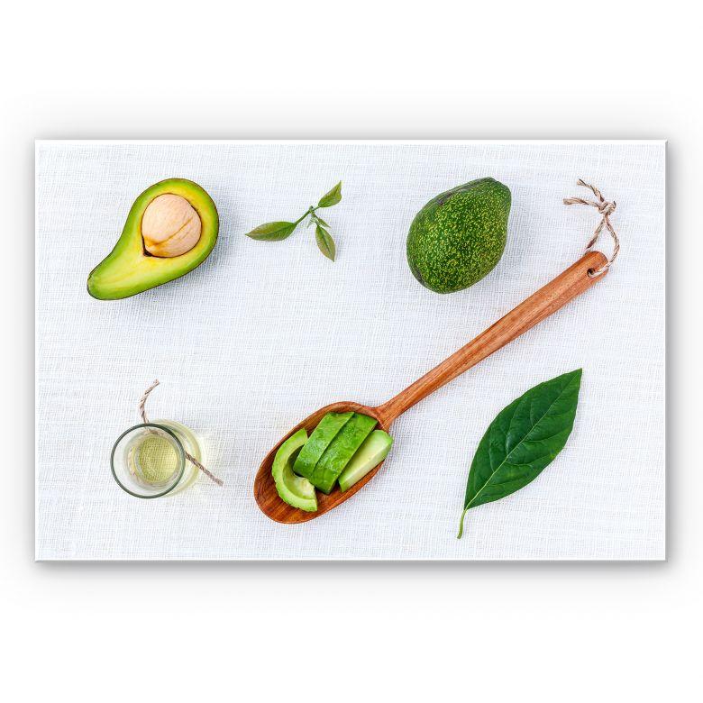 Wandbild Frische Avocado