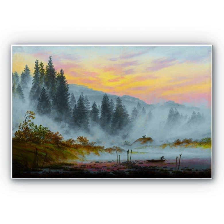 Wandbild Friedrich - Der Morgen