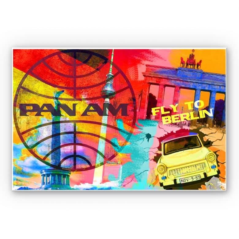 Wandbild PAN AM - Berlin