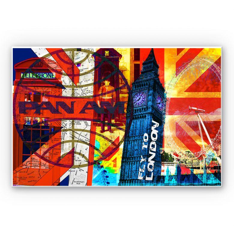 Wandbild PAN AM - London