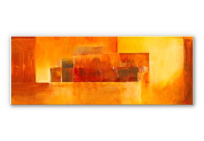 Wandbild Schüßler - Indian Summer - Panorama