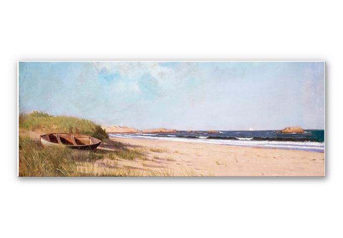 Wandbild Silva - Am Strand - Panorama