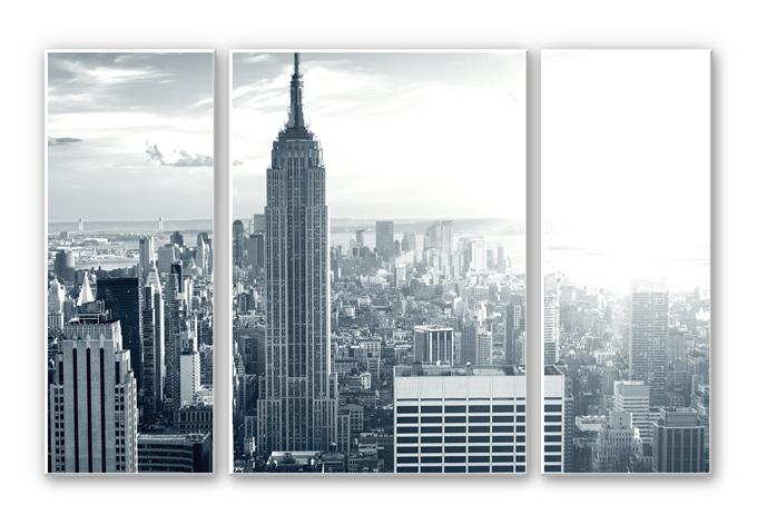 Wandbild The Empire State Building (3-teilig)