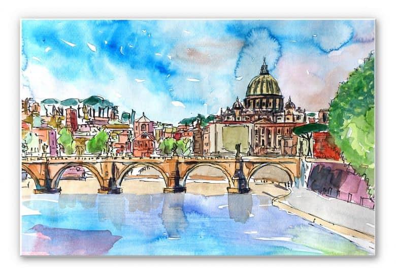 Wandbild Bleichner - Vatican in Rome