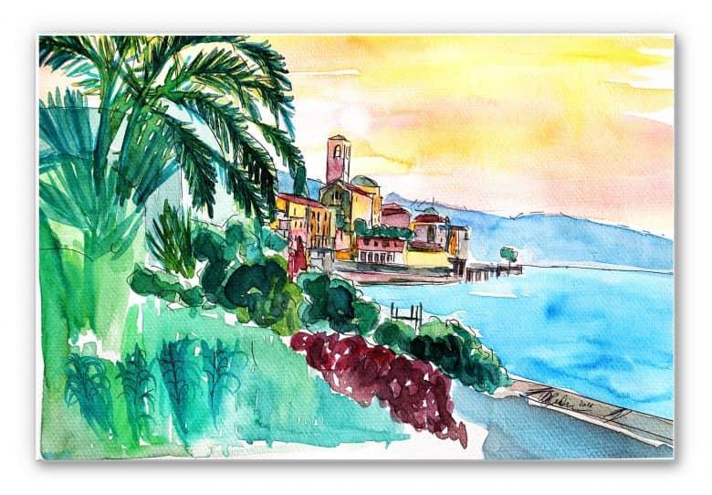 Wandbild Bleichner - Wonderful Lago Maggiore