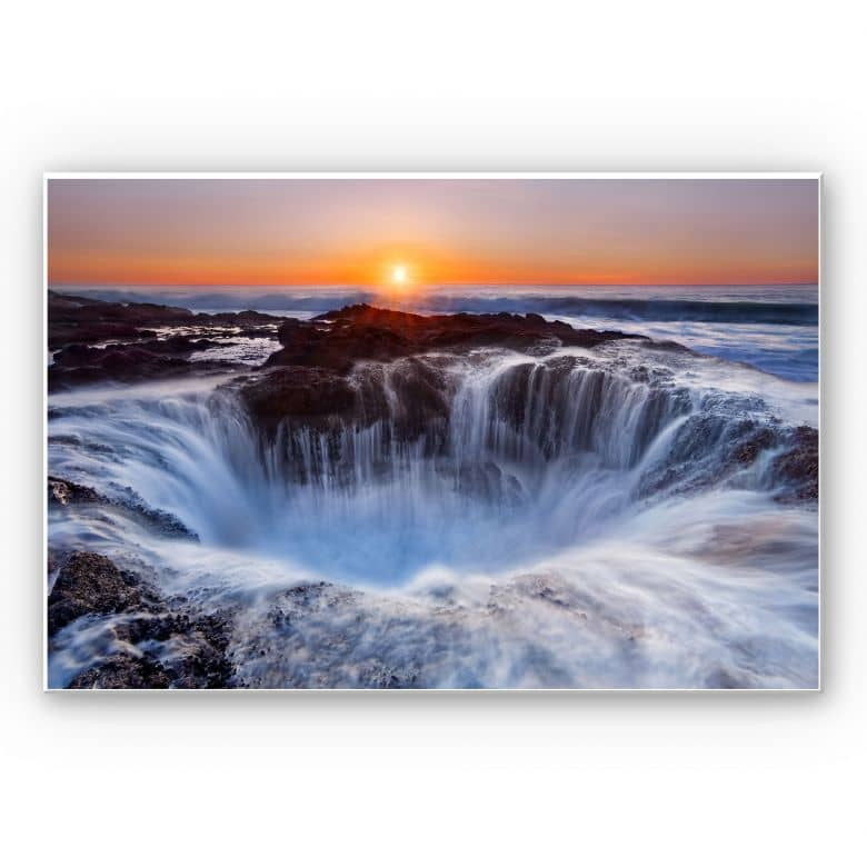 Wandbild Morgan - Oregon Thor's Well