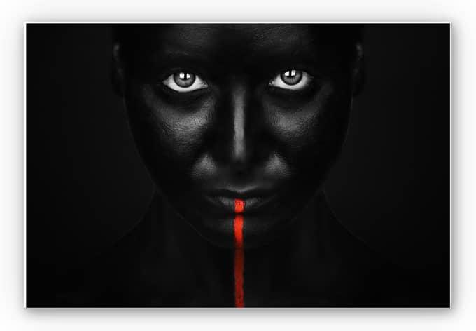 Wandbild Petkov - Red Stripe