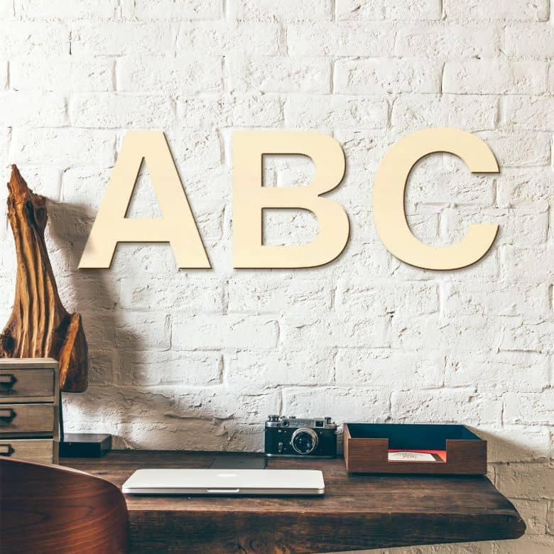 Wooden Letters Swiss