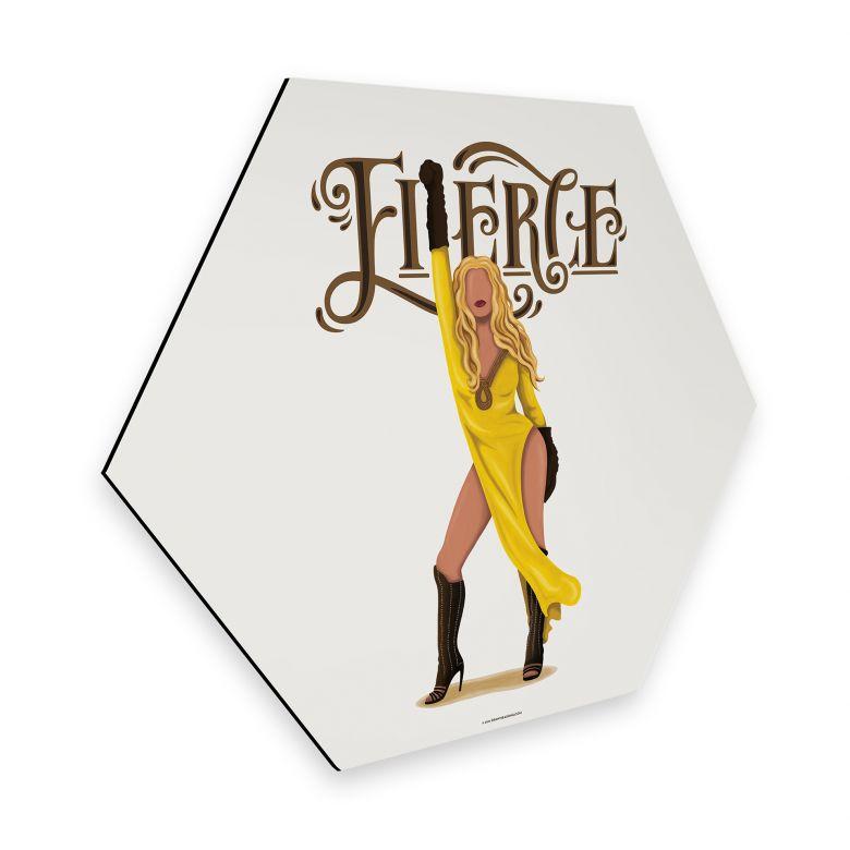 Hexagon - Alu-Dibond Tohmé - Beyoncé