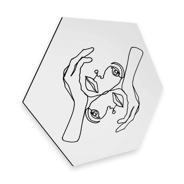 Hexagon - Alu-Dibond - Hariri - Julie