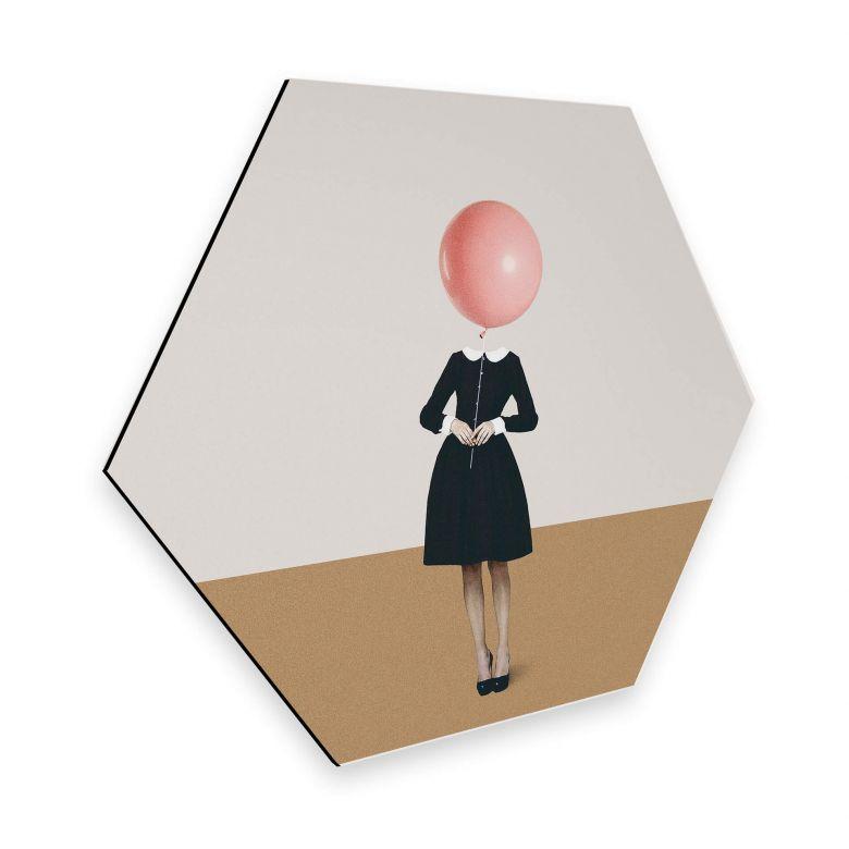 Hexagon - Alu-Dibond Léon - Obvious Imperfections