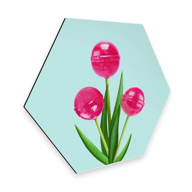 Esagoni Alu-dibond Fuentes - Lollipop