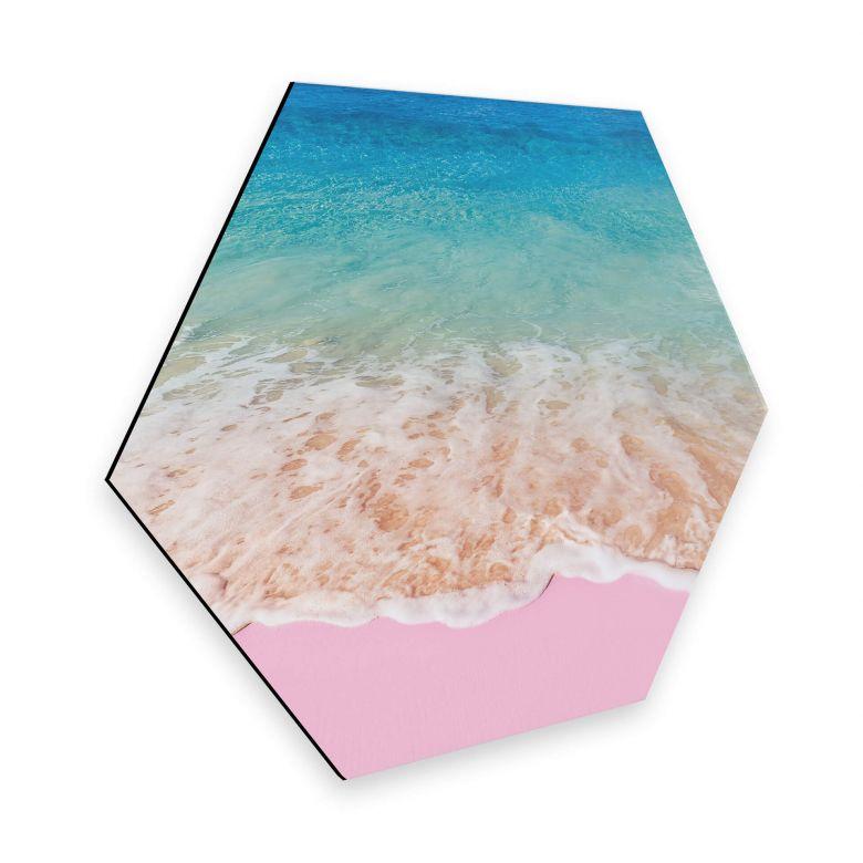 Esagoni Alu-dibond Fuentes - Sabbia rosa