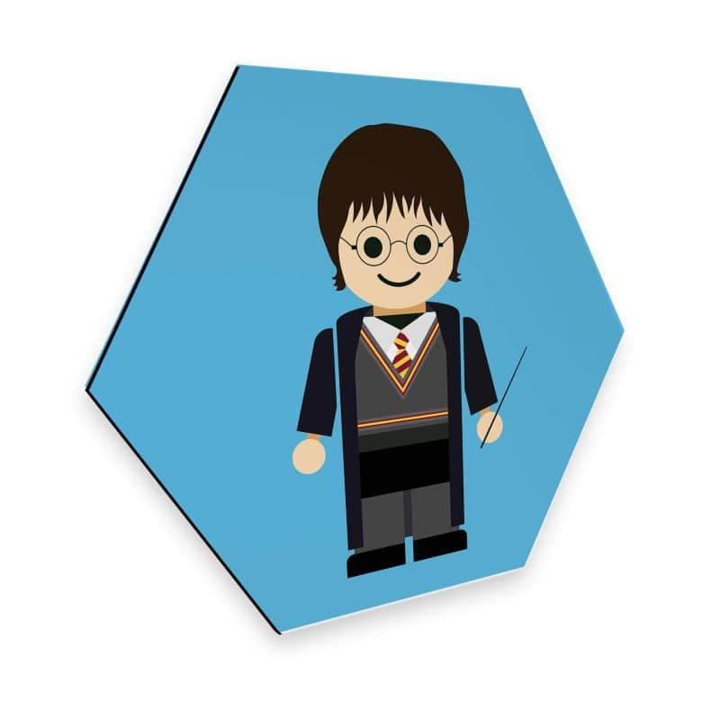 Hexagon - Alu-Dibond Gomes - Harry Potter Spielzeug