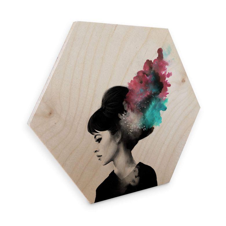 Hexagon Wood Birch Graves - Friday Love