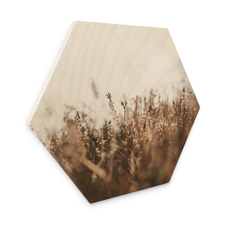 Hexagon Hout Annie - Meadow Grass