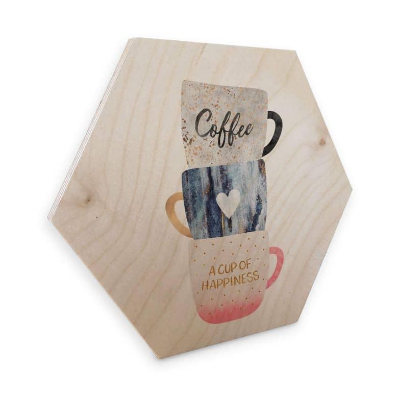 Esagoni in legno  Fredriksson - Una tazza di felicità
