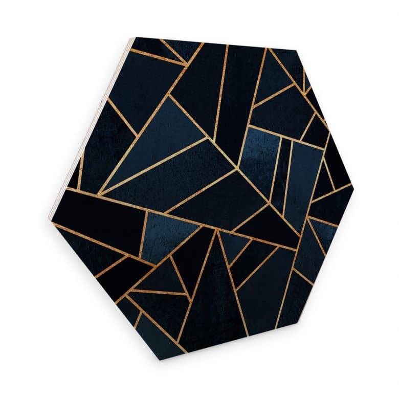 Hexagon Hout Fredriksson - Ocean Stones