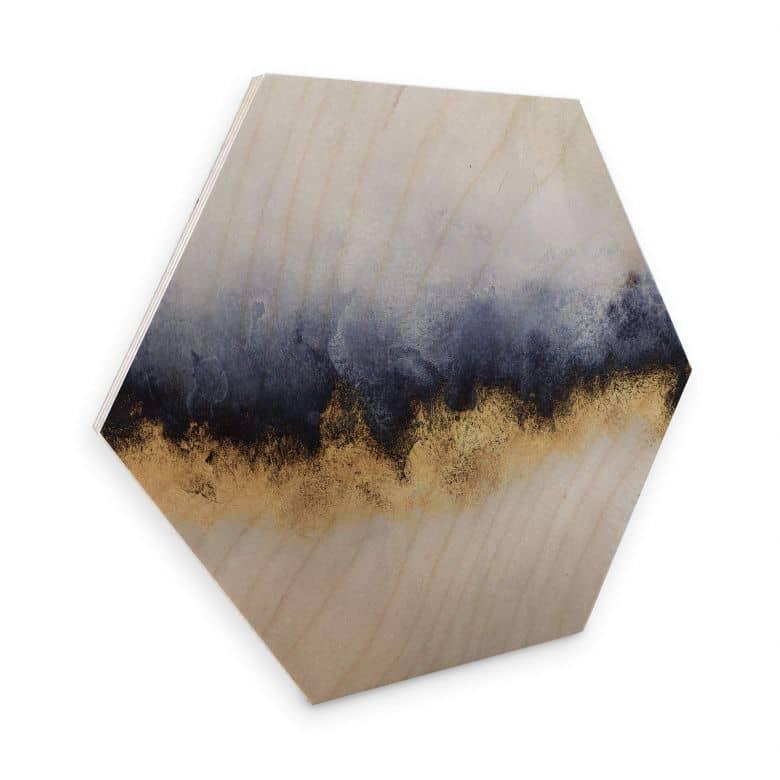 Hexagon - Holz Birke-Furnier Fredriksson - Tageslicht