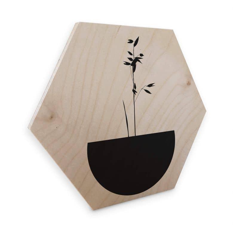Hexagon - Holz Kubistika - Abstracticum