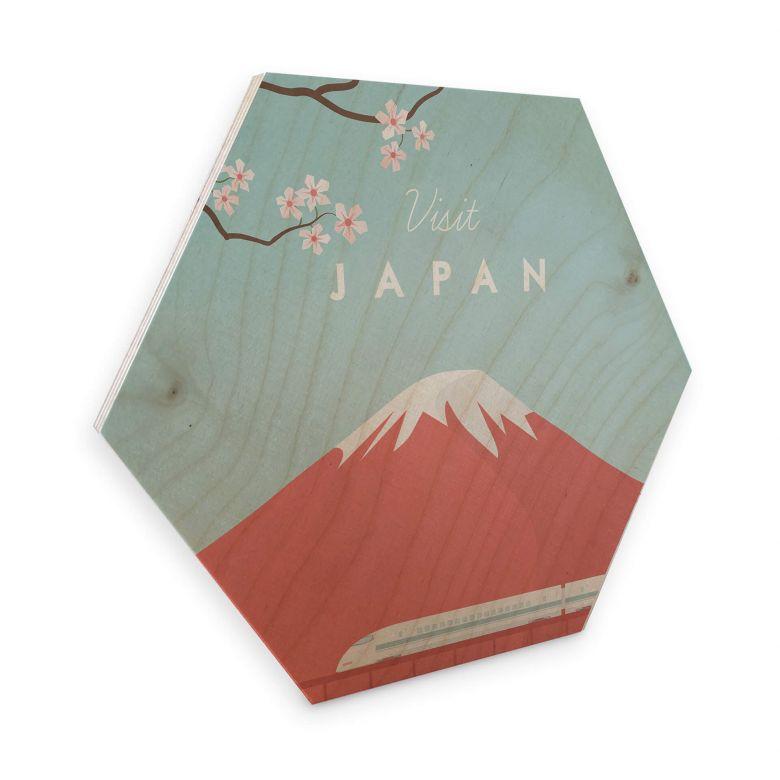 Hexagon berkenfineer Rivers - Japan