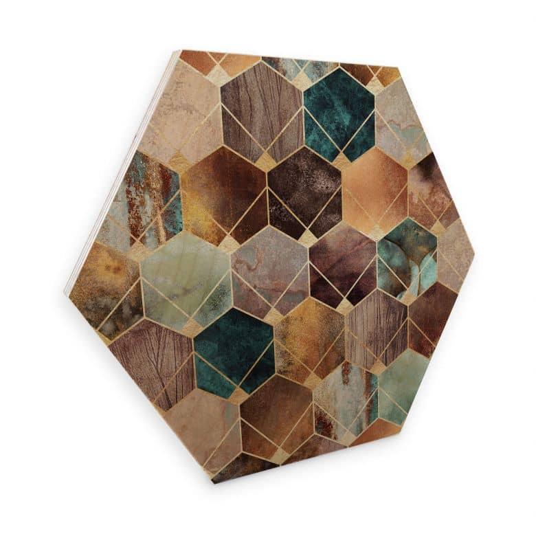 Hexagon - Hout - Fredriksson - Gold