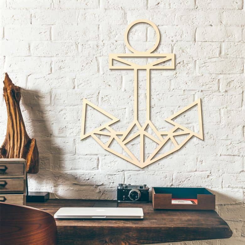 Wooden Anchor – poplar wood