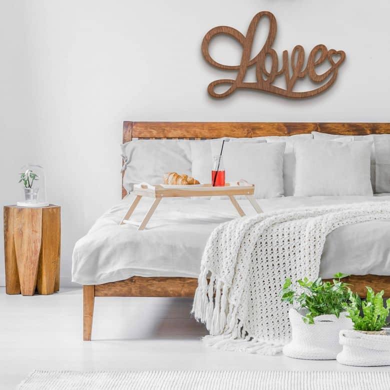 Wooden Décor - Love