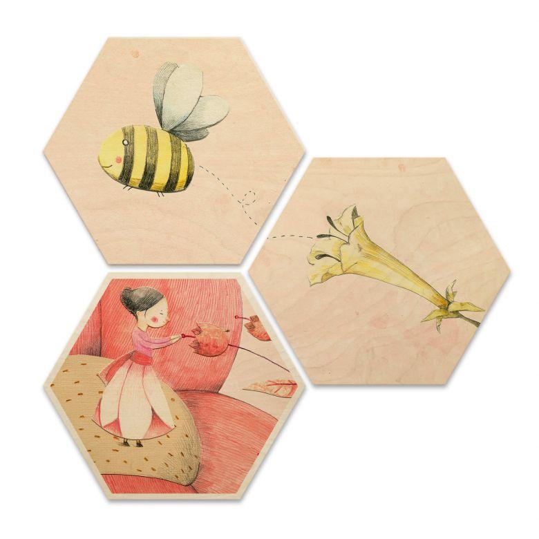 Hexagon Wood - Loske - Thumbelina